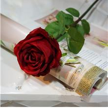 1 BRANCH HIGH SIMULATION EUROPEAN CLASSIC ROSE HOME DECORATION ARTIFIC..