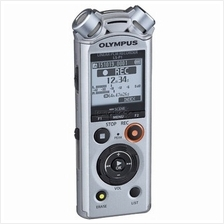 OLYMPUS 4GB DIGITAL VOICE RECORDER WITH MICRO-SDHC READER (LS-P1)