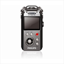 PHILIPS BUILD IN 16GB DIGITAL VOICE RECORDER (VTR8800/93) BLK