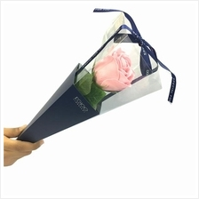 Beautiful Rose Flower Gift 39cm Pink