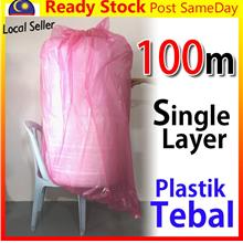Bubble Wrap 100meter*1m Packaging Wrap Post Parcel Buble Angin plastik