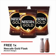 NESCAFE GOLD Refill 170g , Buy 3 Free 1 Nescafe Gold Flask)