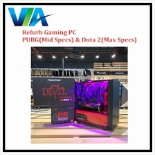 Refurb Gaming PC Set A - PUBG (Mid Specs) and Dota 2 (Max Specs)~8GB Ram