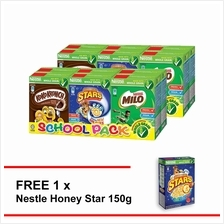 [Flash Sale] NESTLE School Pack Cereal , Buy 2 Free Honey star 150g)