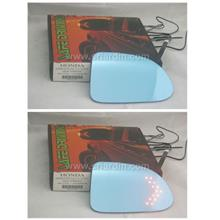 Honda Stream 05 / 09 Blue Side Mirror w LED Signal