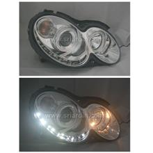 Mercedes CLK W209 03-08 Projector Head lamp w LED