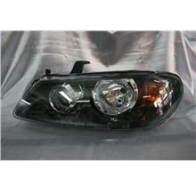 Nissan Sentra 03 - 05 Black Face Projector Headlamp Set