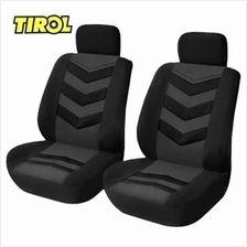 TIROL 4PCS UNIVERSAL CAR FRONT SEAT COVERS INTERIOR PROTECTOR
