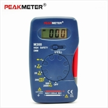 PEAKMETER M300 Digital Multimeter AC / DC Voltage DC Current Resistance Multit