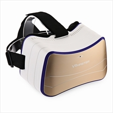 VR MASTER V8 3D GLASSES WIRELESS BLUETOOTH V4.0 (PLATINUM)