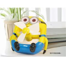 Cute Minion Portable USB Fans