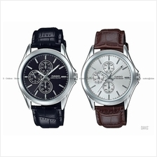 CASIO MTP-V302L STANDARD analog multi-hand day-date 24-hr leather