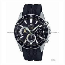 CASIO EFV-570P-1AV EDIFICE chronograph date resin strap black