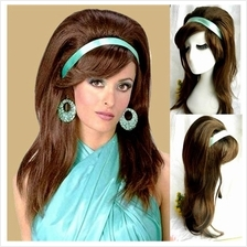 Cosplay hair wig sixties style S3/  ready stock/ rambut palsu