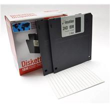 Imation Floppy Diskettes IBM Formatted 1.44MB 2HD 10pcs