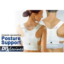 Correct Posture with Dr Levine's Power Magnetic Posture Sport/Support