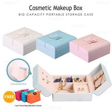Big Capacity Cosmetic Makeup Organizer Jewelry Storage Box 1121