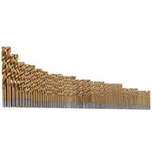 High Speed Steel Titanium Coated Twist Drill Bits 99pcs