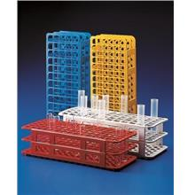 PP test tube rack, autoclavable, 13 mm dia. X 90 holes