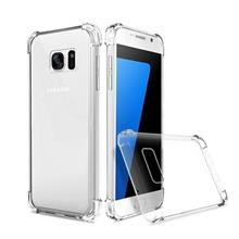 SAMSUNG GALAXY A8 STAR ANTI SHOCK SOFT TPU TRANSPARENT BUMPER CASE