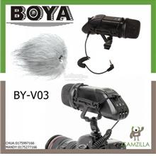 BOYA BY-V03 STEREO BIDEO MICROPHONE