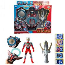 8606 Ultraman summon weapons Figures set Gadgets with Sound & LED