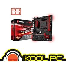 * MSI A320M Gaming Pro AM4 DDR4 mATX Motherboard For AMD