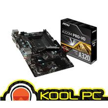 # MSI A320M PRO-VD/S | AM4 MOTHERBOARD