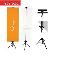 Tripod Bunting Banner Stand (T Stand) Poster Stand (free gift)