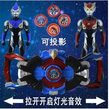 0199-7 Ultraman summon weapons Figures set Gadgets with Sound & LED