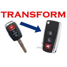 Flip key Holding Remote Key Case Shell for Proton Exora