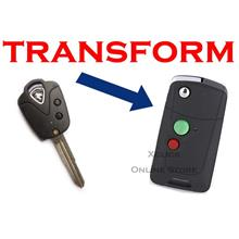 Flip key Holding Remote Key Case Shell for Proton