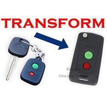 Flip key Holding Remote Key Case Shell for Perodua Myvi, Viva, Alza