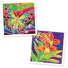Batik Painting 2-in-1 Box Kit - Butterfly and Orchid Flower