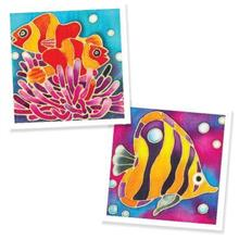 Batik Painting 2-in-1 Box Kit - Clownfish Corals and Fish (For 3 Years