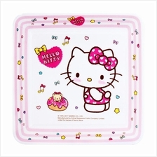 HELLO KITTY 6-INCH MELAMINE SQUARE PLATE