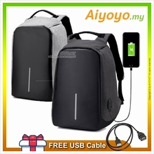 Anti Theft USB Charging Port Laptop Backpack Bag Travel Camera Water Resistant
