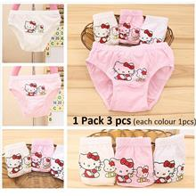 150-1153: Kids Noble Angel 100% Cotton Hello Kitty Briefs ( 1 Set 3 Pc