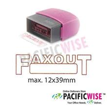 Self-Inking Stamp (RED)-FAXED OUT