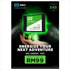 # WD Green 2.5-inches 120GB SATA Solid State Drives # PROMOTION!!
