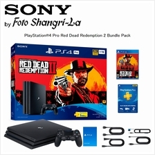 Sony PlayStation 4 Pro 1TB / PS4 Pro 1TB Red Dead Redemption 2 Bundle Pack