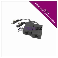 PFM801-4MP 1ch HD-CVI Passive Video Balun with Power