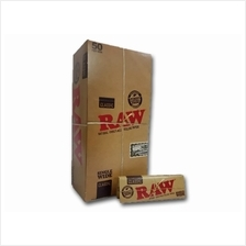 1 box of RAW Papers Single Wide 70MM 50 leaves(Bonus Pack)