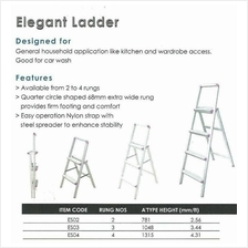 ES02 EVERLAS 2 Step Elegant Ladder ID337363