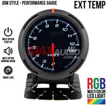 JDM Exhaust Temperature 2.5' RGB Multi-color LED Racing Gauge Meter