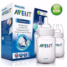 Philips Avent Classic + Bottle 9oz /260ml Twin Pack SCF563/27