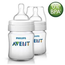 Philips Avent Classic + Bottle 125ml/4oz Twin Pack SCF560/27