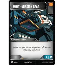 Transformers TCG Multi-Mission Gear - Battle Card Uncommon Playset