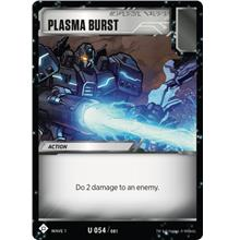 Transformers TCG Plasma Burst - Battle Card Uncommon Playset