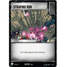 Transformers TCG Strafing Run - Battle Card Uncommon Playset